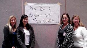 image of OCRA volunteers recruiting new members