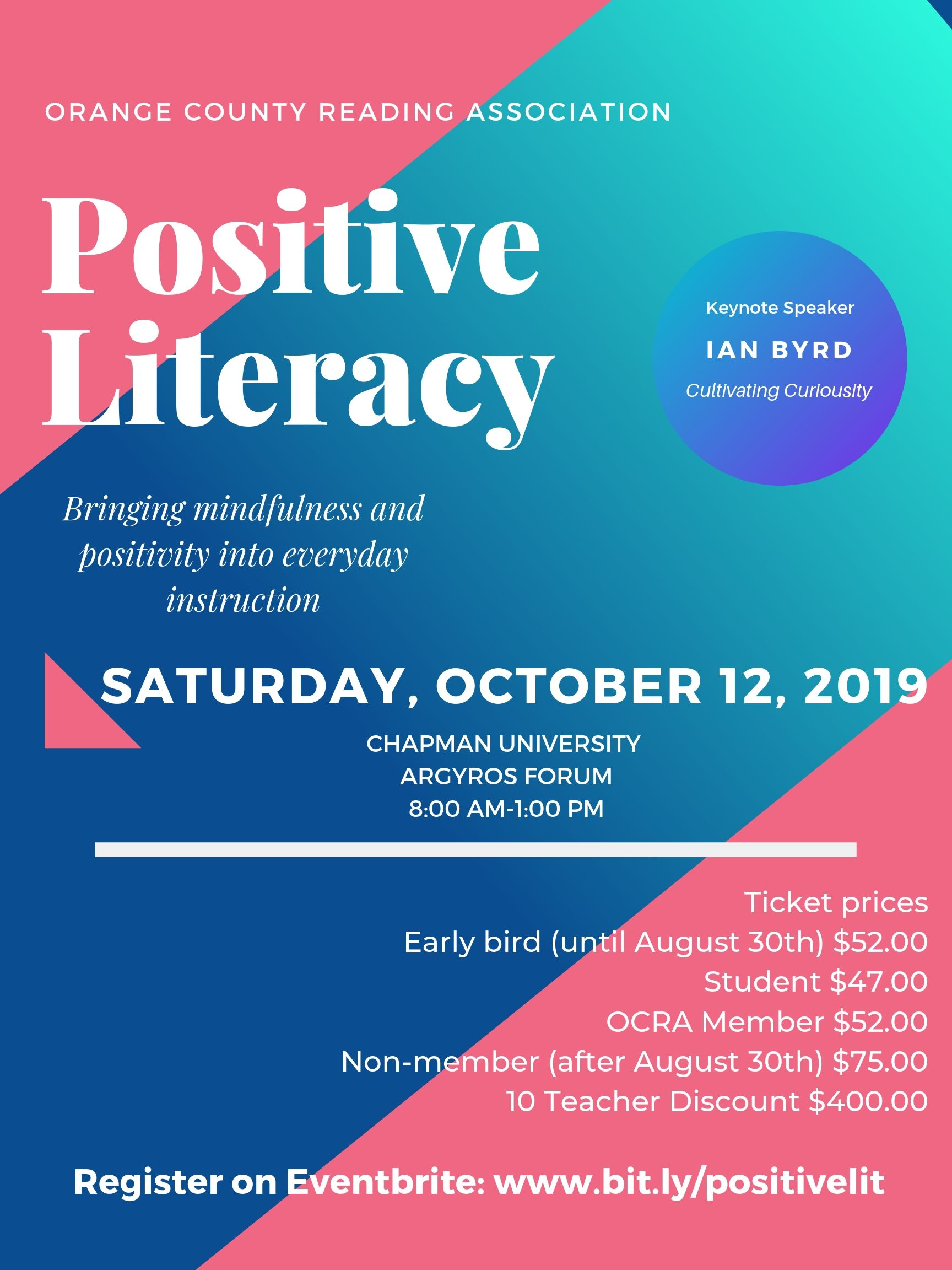 Save the Date: Saturday October 12th