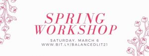 spring workshop banner